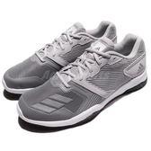 adidas 訓練鞋 Gym Warrior 2 M 灰 白 透氣穩定 運動鞋 男鞋【PUMP306】 BB3238