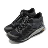 Merrell 戶外鞋 Antora 2 Mid Waterproof 黑 灰 女鞋 戶外 跑步 運動鞋 【ACS】 ML035644