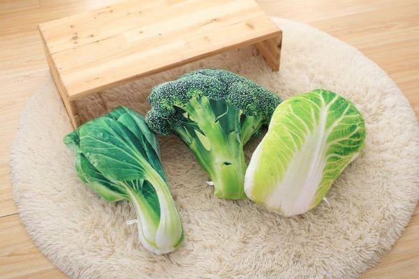 3D創意搞笑仿真蔬菜抱枕/靠墊/午睡枕/沙發枕/ 聖誕禮物 居家佈置 拍照道具(現+預)