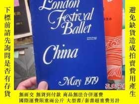 二手書博民逛書店節目單罕見london festival ballet 1979