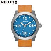 NIXON 手錶 原廠總代理 A243-2854 THE CORPORAL  潮流時尚皮錶帶 男女適用 生日 情人節禮物