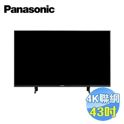 國際 Panasonic 43吋4K液晶電視 TH-43FX600W