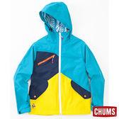 CHUMS 日本 男 Topaz 2.5L 防水外套 藍綠 CH041022T001