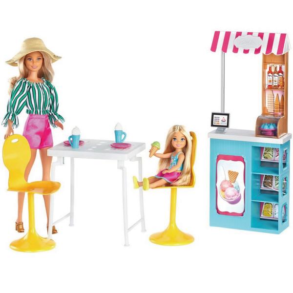 芭比娃娃Barbie 冰淇淋咖啡廳