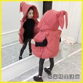兒童羽絨外套 童裝女童馬甲春秋背心寶寶外穿兒童馬夾冬季