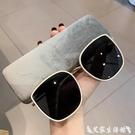 GM太陽鏡大臉顯瘦明星同款網紅復古韓版眼鏡圓臉潮墨鏡女新款 艾家