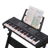 電子琴教學鋼琴鍵成人兒童初學者入門男女孩音樂器玩具88igo 全館免運