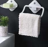 毛巾架 浴室衛生間免打孔單桿兒童掛鉤桿晾掛架子壁掛小型宿舍置物【快速出貨八折下殺】