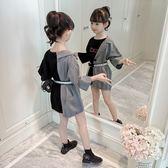 童裝女童秋裝韓版兒童春秋季女孩洋氣裙子時尚洋裙潮衣 至簡元素