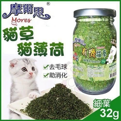 *KING WANG*摩爾思-貓草32g(細葉) /貓薄荷/貓零食/貓玩具/貓大麻/好消化/去毛球