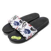 NIKE系列-KAWA SLIDE小童款黑底彩色LOGO運動拖鞋-NO.CT6619010