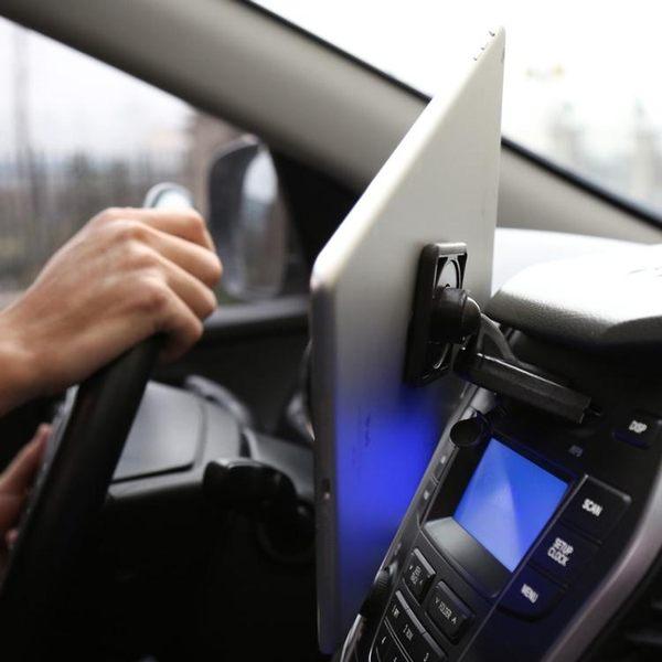 環磁 車載磁力cd口手機ipad平板通用支架 手機平板導航支架【快速出貨八折優惠】