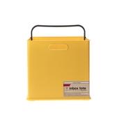 日本Sanka squ+提把收納盒SD-黃