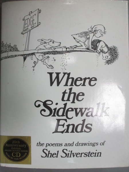 【書寶二手書T6/電玩攻略_WGC】Where the Sidewalk Ends_Silverstein, Shel