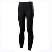 Mizuno BIOGEAR [J2TB573190] 女款 緊身 全長 長褲 運動 慢跑 路跑 吸汗 快乾 黑