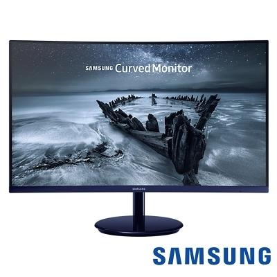 SAMSUNG C27H580FDE 27型 VA曲面電腦螢幕