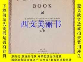 二手書博民逛書店【原版罕見】1923年版《散文與詩歌,新領導者 》12張藝術家木