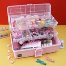 兒童發飾收納盒寶寶頭繩發夾皮筋