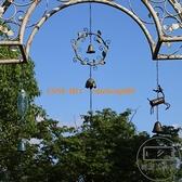 花園庭院別墅風鈴掛飾鈴鐺復古掛件創意簡約戶外陽臺裝飾【輕派工作室】