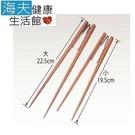 【海夫健康生活館】日本進食輔助筷-樂樂箸 (金屬輔助夾)