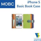 Apple iPhone 5 MOBC Basic Book 保護套【葳訊數位生活館】