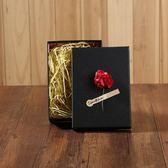 森系口紅香水錢包圍巾禮盒長方復古牛皮紙盒禮品盒禮物盒生日閨蜜 小巨蛋之家