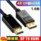 DP轉HDMI 4K 影音訊號線DP TO HDMI 1.8M-4K2K