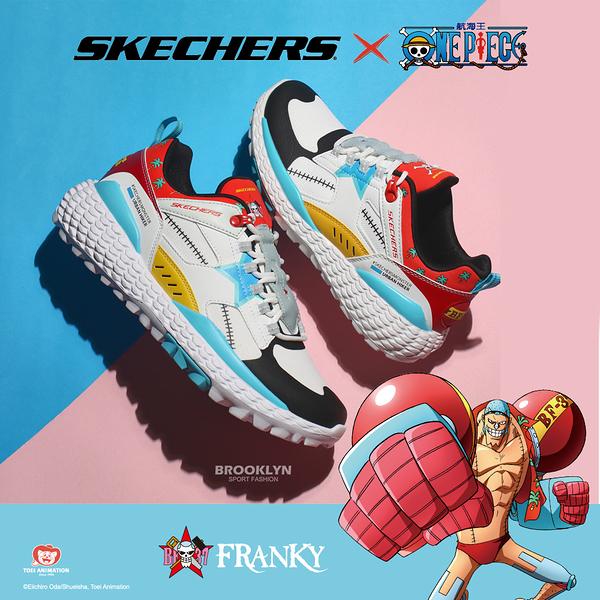 SKECHERS 休閒鞋 ONE PIECE 航海王 聯名款 佛朗基 MONSTER 男 (布魯克林) 894037WMLT