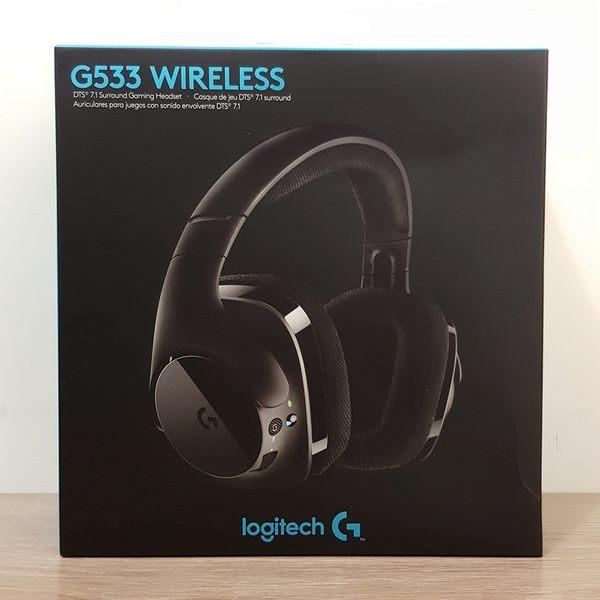 【WowLook】羅技 Logitech G533 DTS 7.1 聲道環繞音效遊戲無線耳機麥克風
