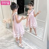 女童公主裙純棉洋氣裙子小女孩潮韓版兒童連身裙吾本良品