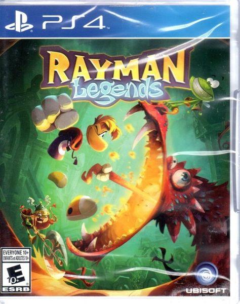 現貨 PS4遊戲 雷曼 雷射超人 傳奇 Rayman Legends 英文版 【玩樂小熊】