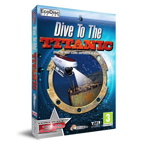 【軟體採Go網】★滿5支現折200送搖桿★PCGAME-深探鐵達尼號 Dive to the Titanic 盒裝英文版