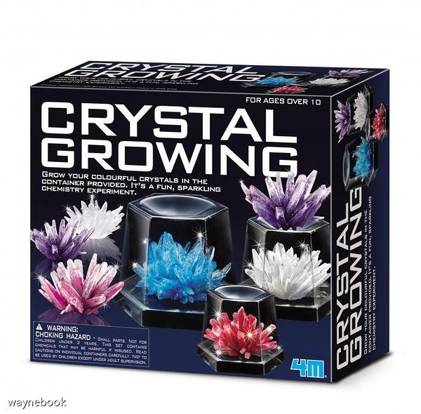【4M】00-03915 科學探索系列 神奇水晶體豪華組 Crystal Growing Experimental Kit
