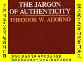 二手書博民逛書店Jargon罕見Of AuthenticityY255562 Theodor Adorno Northwest