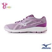 Mizuno女慢跑鞋 STARGAZER 2 美津濃跑步鞋 訓練鞋 輕量 耐磨運動鞋 I9247#紫色◆OSOME奧森鞋業