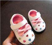 兒童鞋嬰兒真皮單鞋女寶寶春夏0-1-2歲防滑軟底女童公主學步鞋子