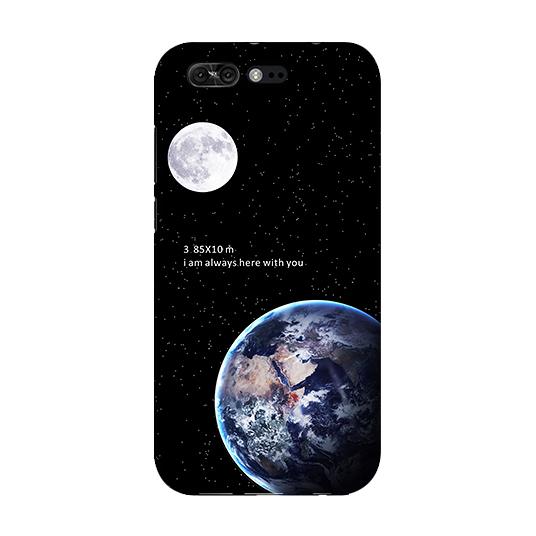 [ZS551KL 軟殼] 華碩 ASUS ZenFone 4 Pro Z01GD 手機殼 外殼 保護套 地球月球