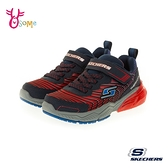 Skechers童鞋 男童運動鞋 THERMOFLUX 2.0 輕量運動鞋 避震緩衝 跑步鞋 慢跑鞋 魔鬼氈 V8228#紅藍