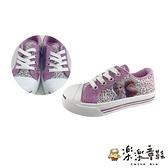【樂樂童鞋】台灣製冰雪奇緣2休閒鞋-紫色 F073-1 - 女童鞋 休閒鞋 布鞋 運動鞋 大童鞋 現貨 台灣製