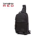 特價 Samsonite RED 新秀麗 【ONSE HE0】斜肩包 單肩包 胸包 Cordura布料 耐用耐磨 防盜扣環