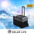 Pro Kamping領航家 內建鋰電池行動冰箱-42L.露營車用冰箱 車載電冰箱 冷凍壓縮機 家用汽車冰箱