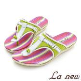 La new outlet  氣墊拖鞋 女220085260