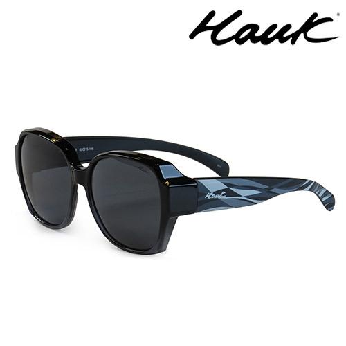 HAWK 新型薄框偏光太陽眼鏡套鏡(2用)HK1025-99