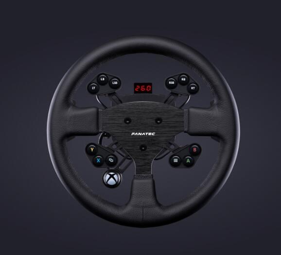 [2美國直購] fanatec 方向盤 ClubSport Steering Wheel Round 1 V2 for Xbox