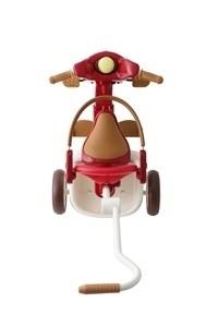 【日本iimo】升級款第二代兒童三輪車(折疊款-紅色)