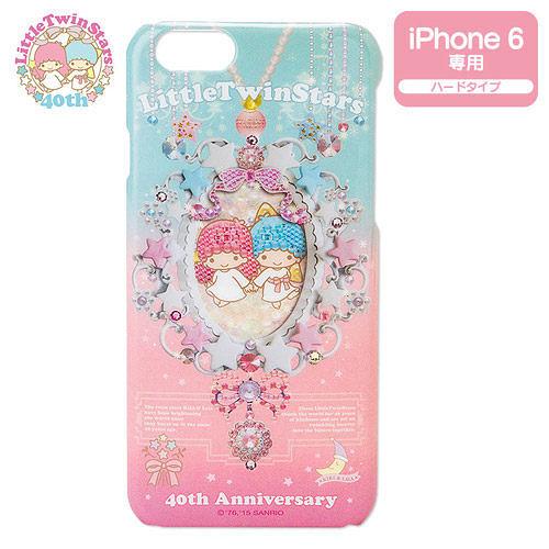 【震撼精品百貨】Little Twin Stars KiKi&LaLa 雙子星小天使~40週年永恆閃耀系列iPhone6保護殼