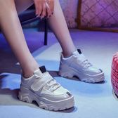 老爹鞋 秋冬新款女韓版 原宿百搭學生加絨運動鞋小白鞋-韓先生