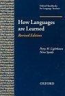 二手書博民逛書店《How Languages Are Learned (Oxfo