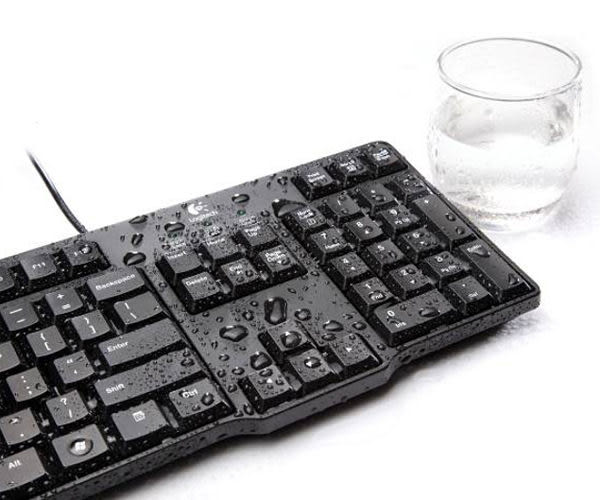 羅技 Logitech MK100 有線鍵盤滑鼠組 防潑水設計