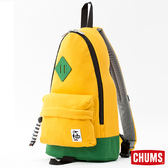CHUMS 日本 SxN 經典單肩斜背包 黃/綠 CH602120Y026